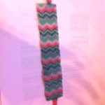 zig-zag peyote stitch bracelet, pattern from beadwork.about.com