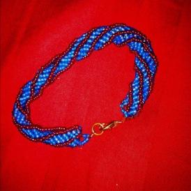 Beadwork: African Helix Sitch Bracelet